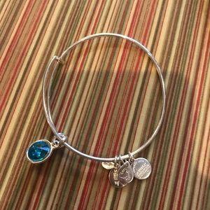 Alex & Ani Turquoise birthstone bracelet